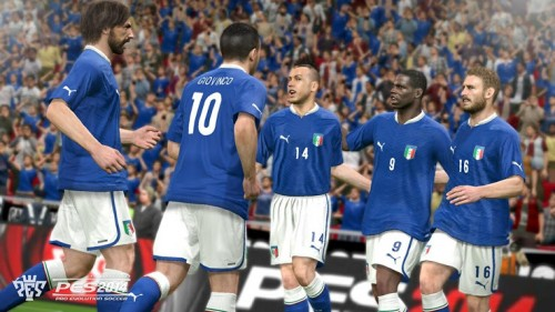 PES 2014 Italy celebration