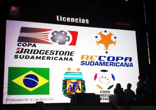 PES 2014 South American Licenses