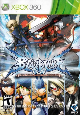 BlazBlue Continuum Shift - U.S Ver (Xbox 360) cover front 1