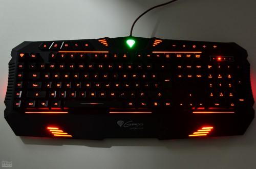 Natec Genesis RX66 - klawiatura dla graczy