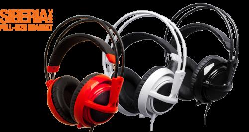 słuchawki dla graczy do 200 zł steelseries siberia v2