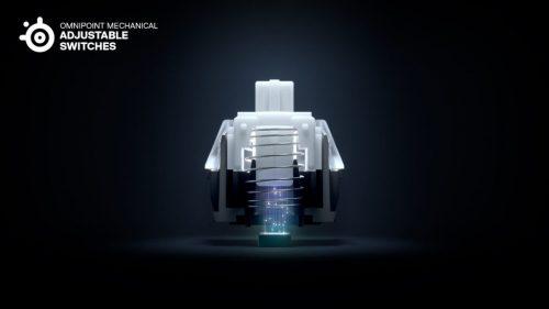 klawiatura mechaniczna steelseries przełączniki omnipoint