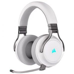 Słuchawki gamingowe białe