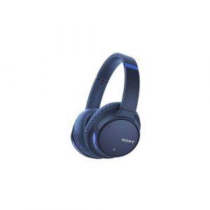 Słuchawki gamingowe niebieskie