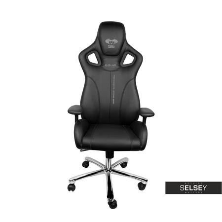 Fotel gamingowy do 1500 zł E-Blue Cobra czarny
