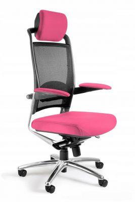 krzesło gamingowe różowe fulkurm