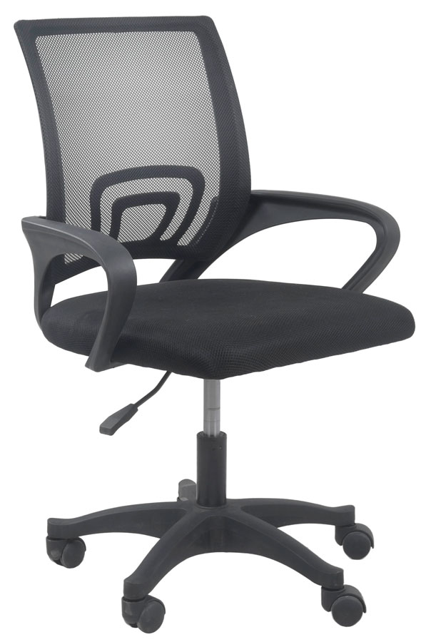 Czarne Krzesło Obrotowe Dla Ucznia Morgan