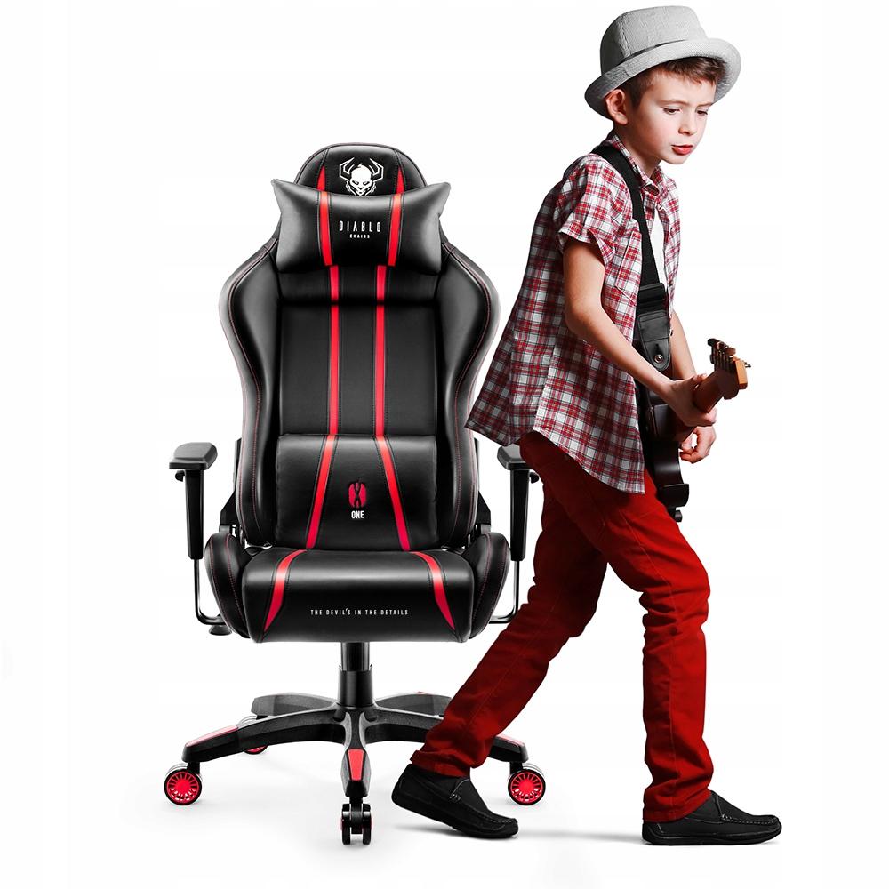 Fotel DzieciĘcy Gamingowy Gracza Diablo X One Kids