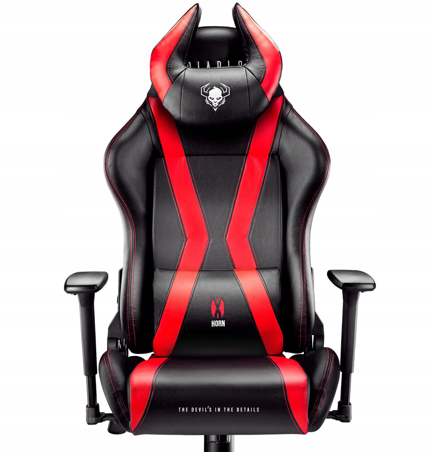 Fotel Gamingowy Diablo X Horn L Dla Gracza Biurowy