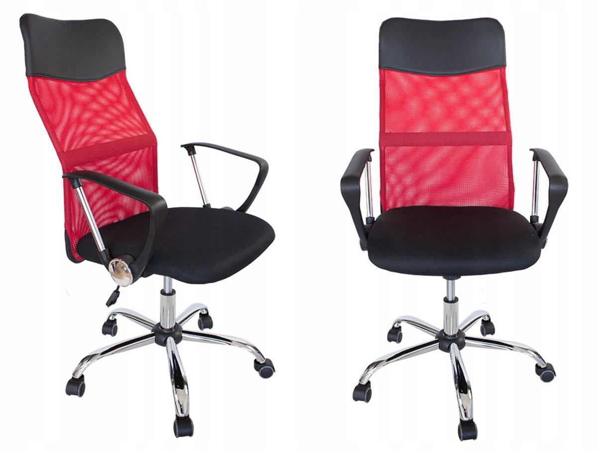 Fotel Gamingowy Pro KrzesŁo Biurowe Chrom L406