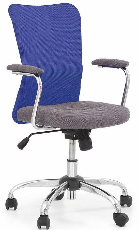Fotel Młodzieżowy Alwer Niebieski