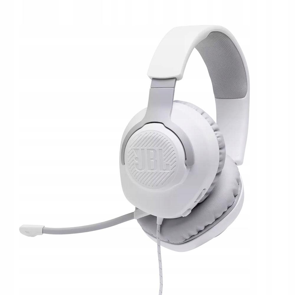 Jbl Quantum 100 White Słuchawki Gamingowe Discord