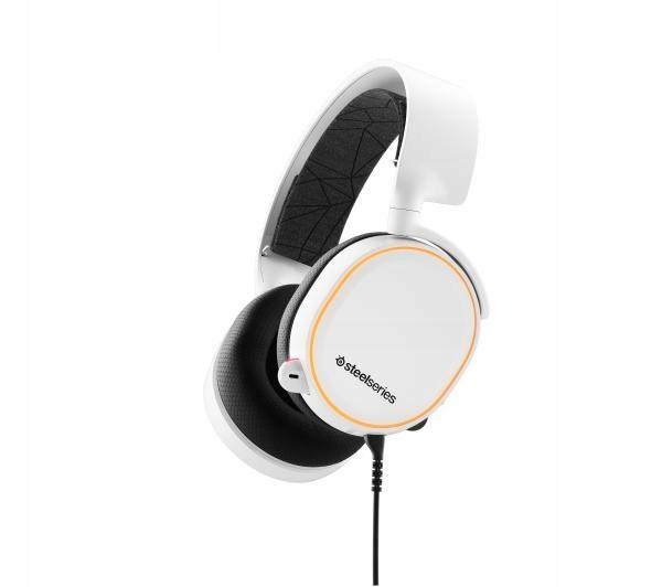 Słuchawki Steelseries Arctis 5 Rgb Gamingowe Białe